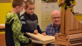 FAME meets STEM: Third graders build pipe organ at school