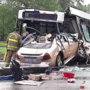 Son thankful mom is alive after horrific bus crash