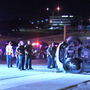 Two teens injured in rollover crash along Loop 410