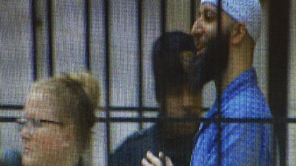 'Serial': Shackled Adnan Syed waves to fans after post-conviction hearing