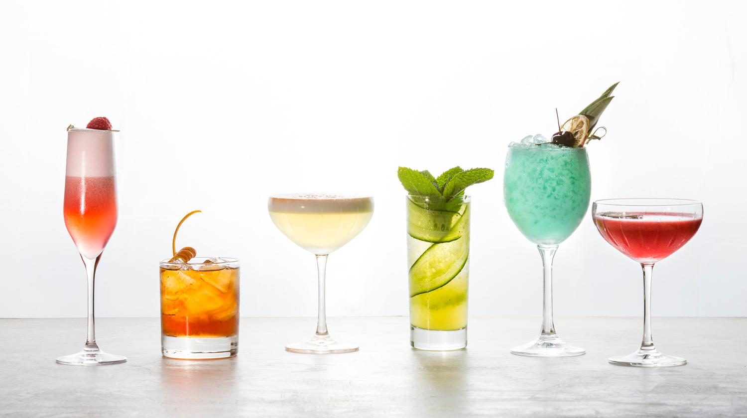 The Fairmont Olympic Hotel will be serving up the Rainbow Pride Flight from June 1-30 to celebrate Pride Month! Each cocktail costs $12, or you can try the whole set for $70 and 15% will go to the Lambert House which supports LGBTQ youth. (Sy Bean / Seattle Refined)
