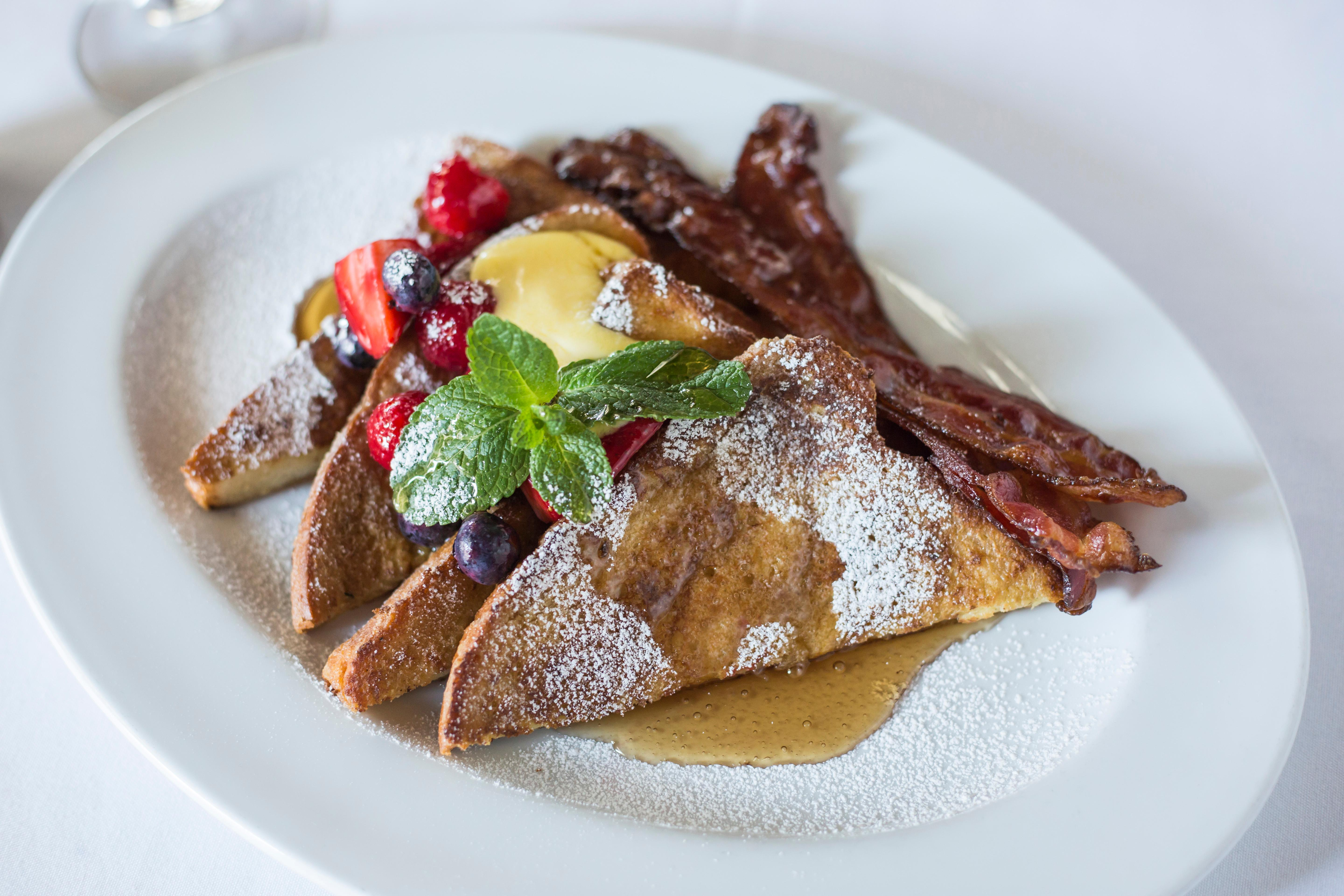 Ocean Prime's french toast.{ }(Photo courtesy of Ocean Prime)