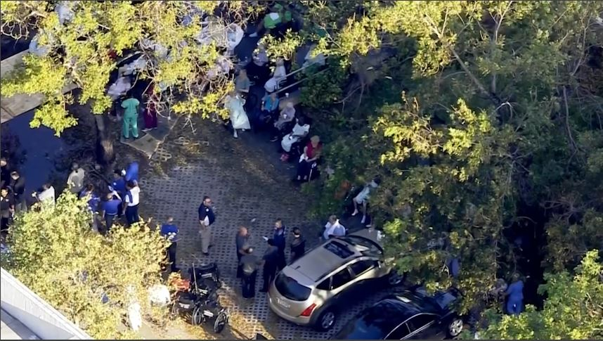 5 people dead, hundreds evacuated from nursing home in Hollywood. (CBS Newspath)