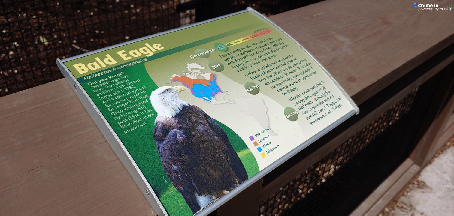 A new exhibit called Eagle Ridge was announced Thursday by Tracy Aviary that additionally has achieved official botanical garden status. (Photo: KUTV)