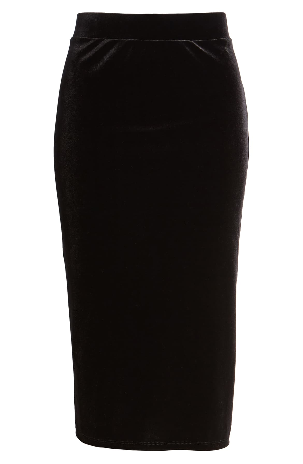 "<a  href=""https://shop.nordstrom.com/s/halogen-velvet-stripe-pencil-skirt/5349397/full?origin=keywordsearch-personalizedsort&breadcrumb=Home%2FAll%20Results&color=black-%20silver%20stripe"" target=""_blank"" title=""https://shop.nordstrom.com/s/halogen-velvet-stripe-pencil-skirt/5349397/full?origin=keywordsearch-personalizedsort&breadcrumb=Home%2FAll%20Results&color=black-%20silver%20stripe"">Halogen Velvet Pencil Skirt - $41.40</a>. From cozy to gold hued to tailored, Nordstrom has the hottest trends for getting glam this holiday season! (Credit: Nordstrom)"