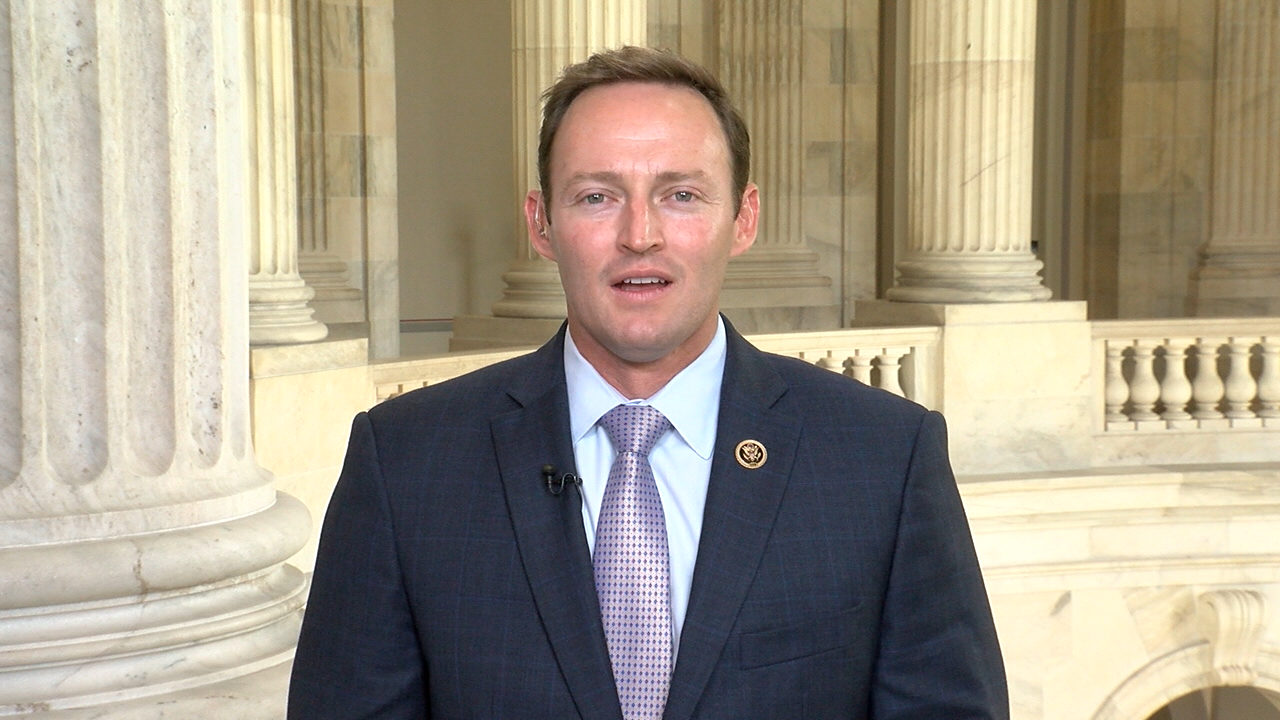 Rep. Patrick Murphy (D-FL) spoke to WPEC from Capitol Hill on Dec. 7, 2016. (SBG)