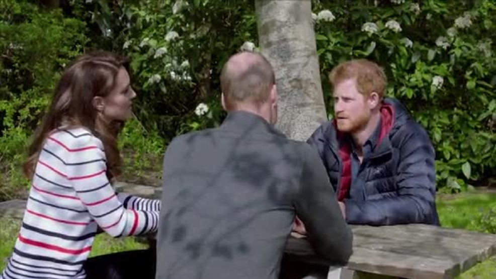 Video: Prince William, Duchess Kate, Prince Harry open up about mental health