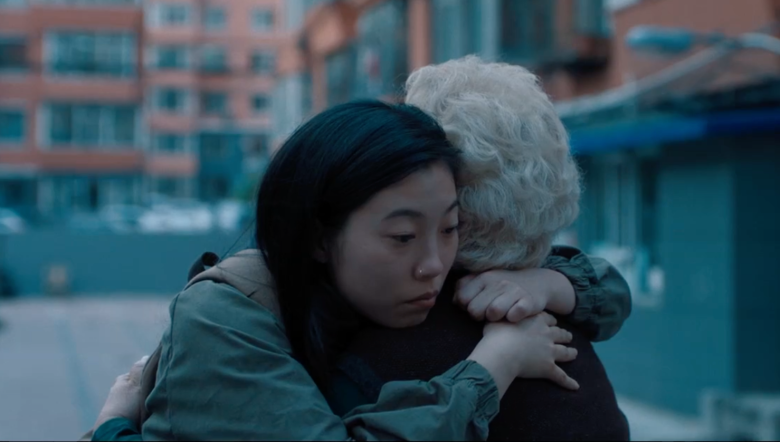 Awkwafina and Zhao Shuzhen in The Farewell.{ }(Image courtesy of 'The Farwell')