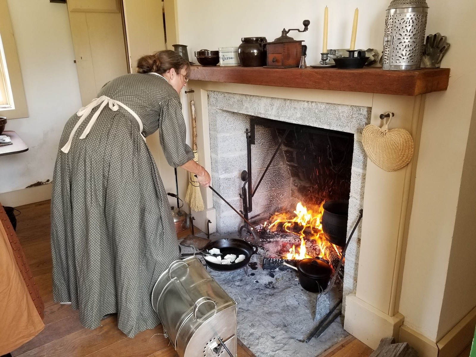 <p>At the Thiebaud Farmstead, a group of historical period actors will show you the ins and outs of life in 1843, including  quilting, spinning, sewing, and how to press 300 pounds of hay. You'll even see how folks back then did laundry, which is sure to give you a new appreciation for your washing machine. / Image courtesy of Switzerland County Historical Society // Published: 4.1.18</p>