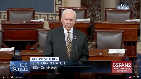 Sen. Orrin Hatch (Photo: Sen. Hatch's office)