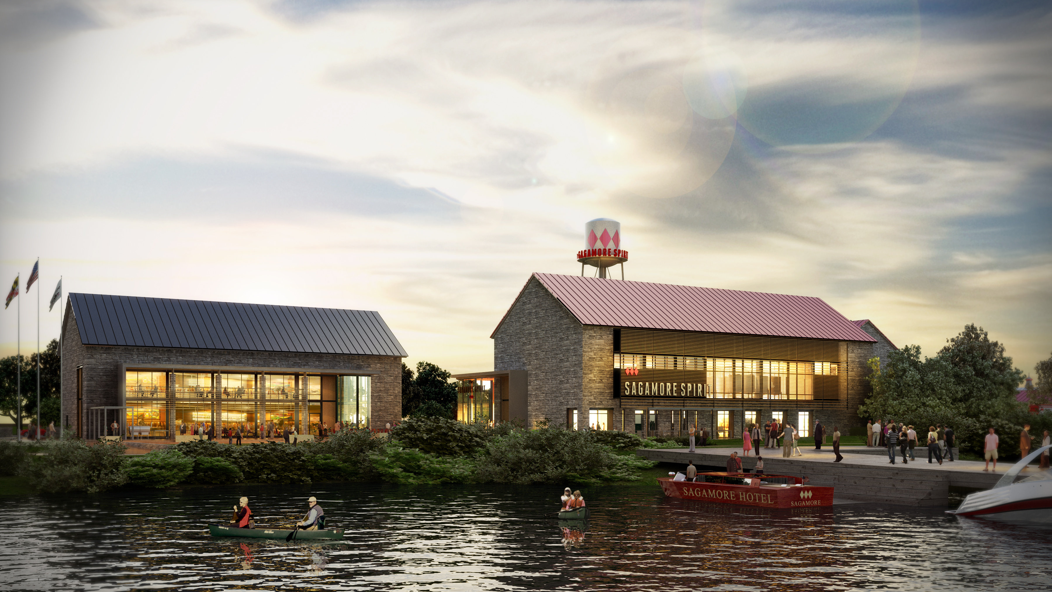 Sagamore Spirit opens its waterfront distillery on East Cromwell Street in Port Covington on Friday, April 21, 2017 (Photo courtesy Sagamore/Maroon PR)