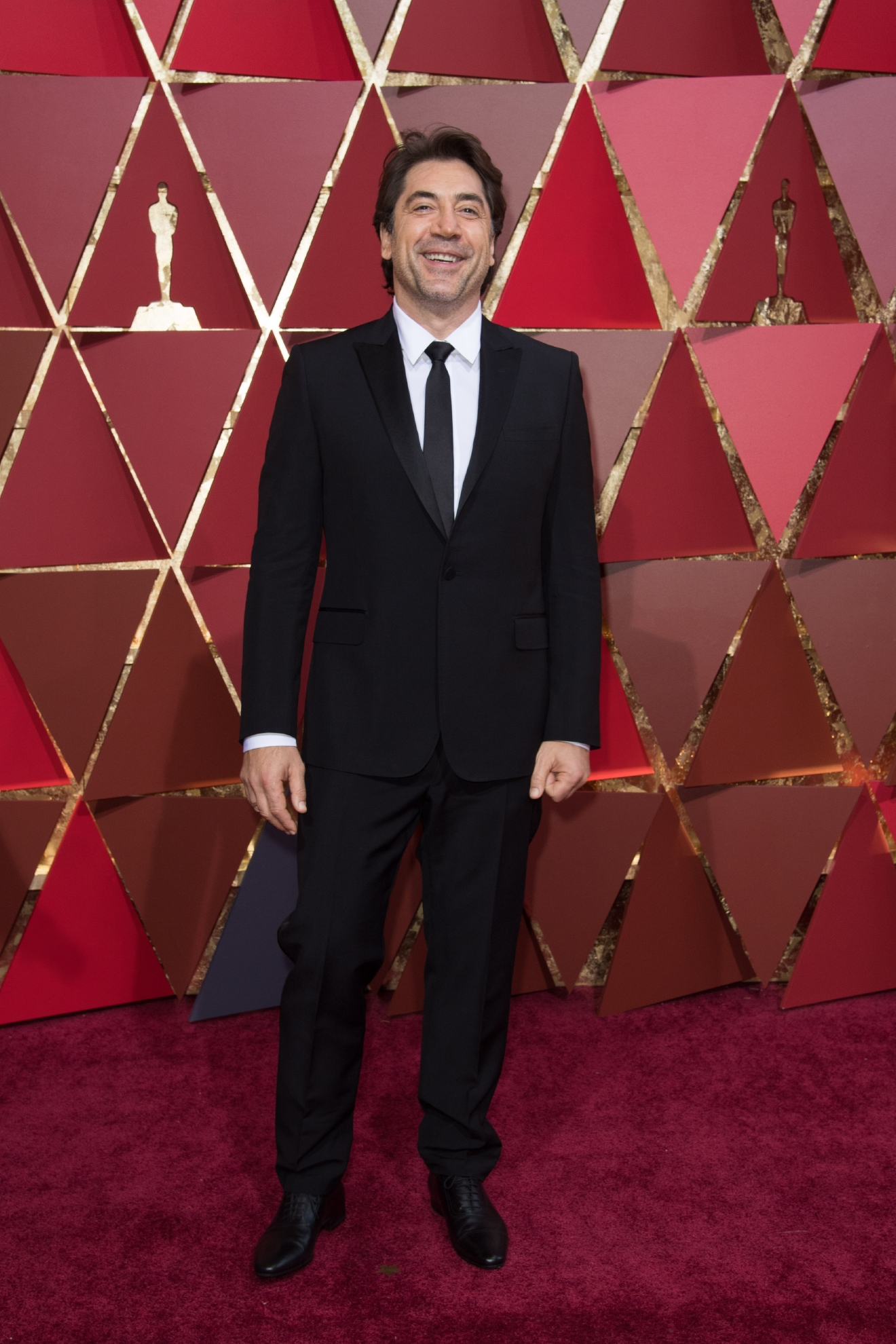 Actor Javier Bardem arrives on the red carpet at The 89th Oscars® at the Dolby® Theatre in Hollywood, CA on Sunday, February 26, 2017. (A.M.P.A.S.)