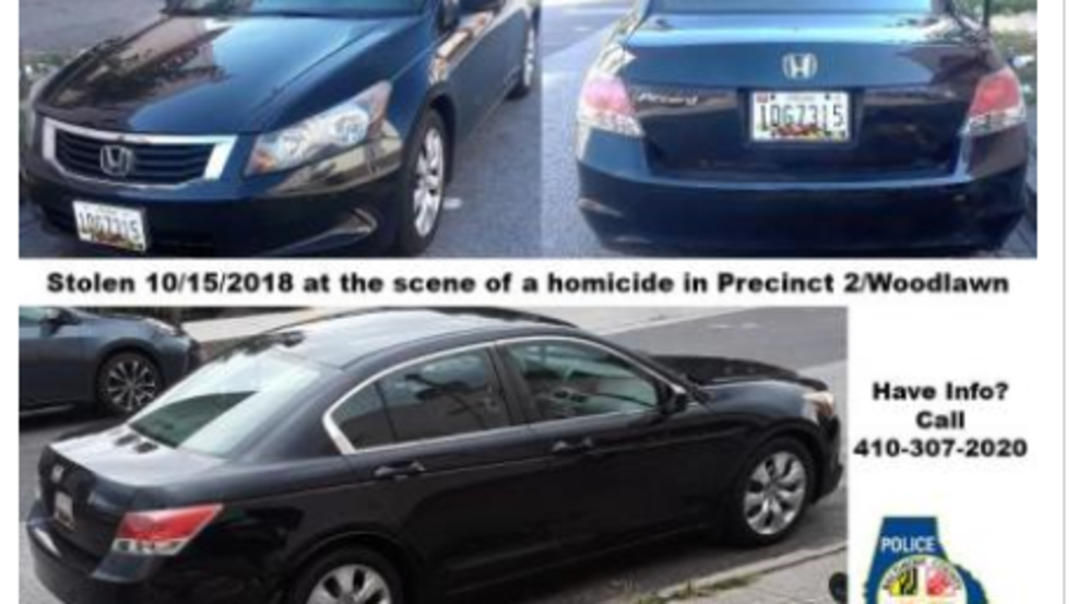 Police search for stolen car and clues in October 2018 murder
