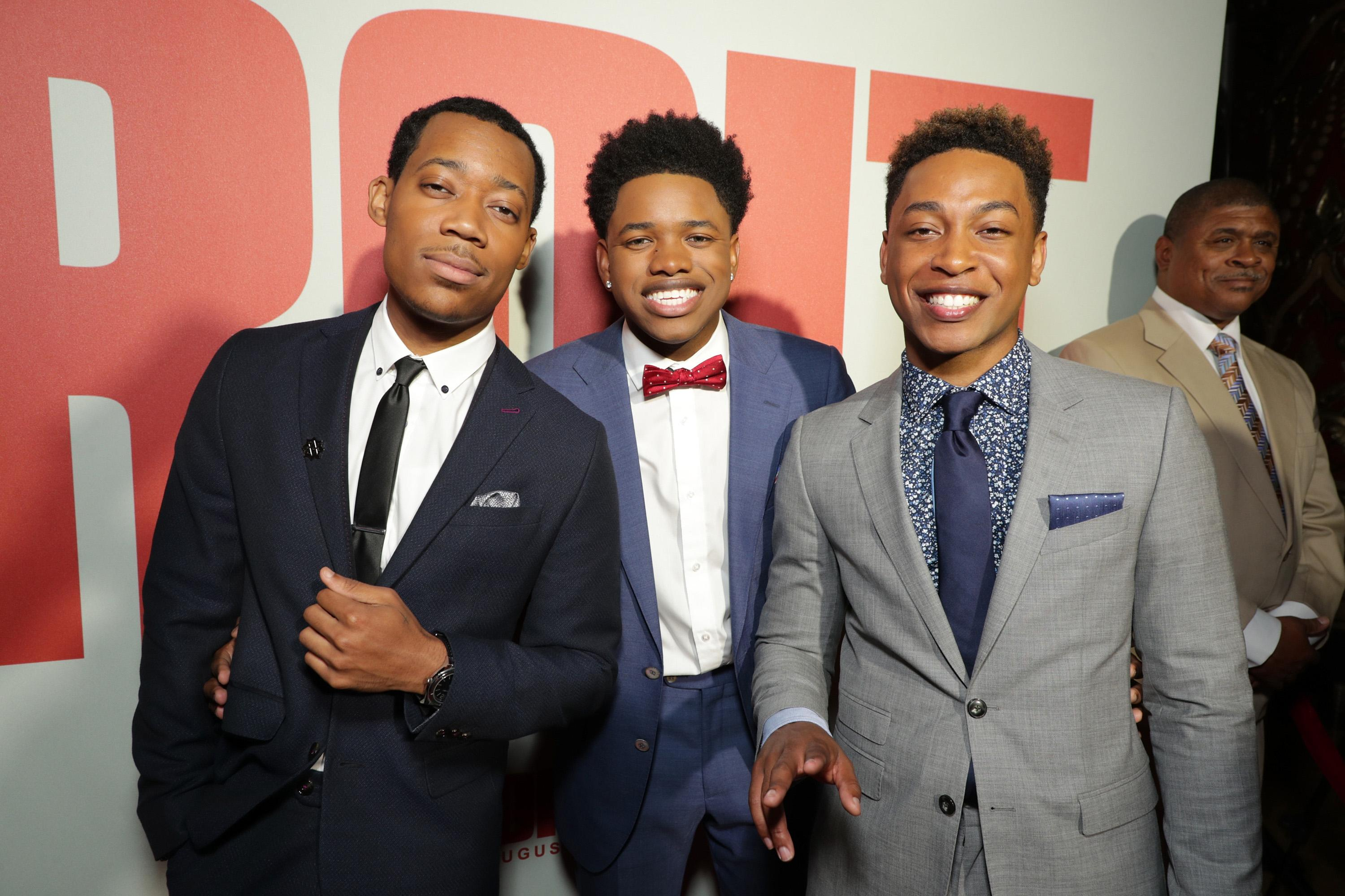 Tyler James Williams, Nathan Davis Jr., Jacob Latimore