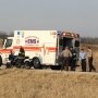 Motorcycle accident sends one to hospital in Adams County