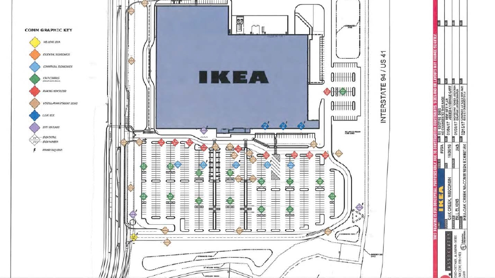 Ikea Plans Revealed for Oak Creek. Ikea Set to Open in Oak Creek   WLUK