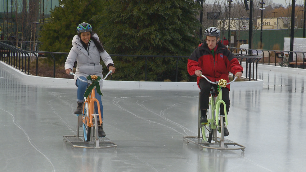 Titletown District Preparing To Rent Bikes For Ice Rink Wluk