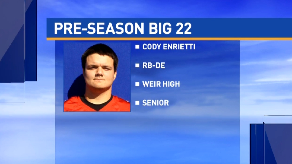 Big 22 Preview: Cody Enrietti