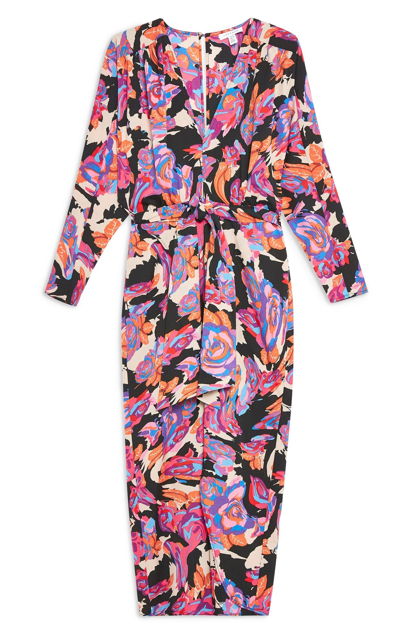 Topshop Distorted Floral Dress (normally $95): NOW $62.90 (Image: Nordstrom)