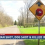 Ogden shooting kills dog, sends woman to the hospital