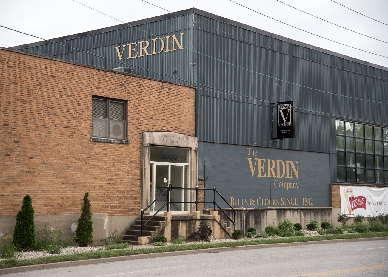 The Verdin Company has been going strong in Cincinnati for 175 years without interruption. They are responsible for manufacturing many bells and clocks around the world—from a carillon at Disney's Epcot Center, to Newport's World Peace Bell, to the New York Stock Exchange's closing bell. The company is currently still family-run by the sixth generation of Verdins. / Image: Phil Armstrong, Cincinnati Refined // Published: 10.19.18