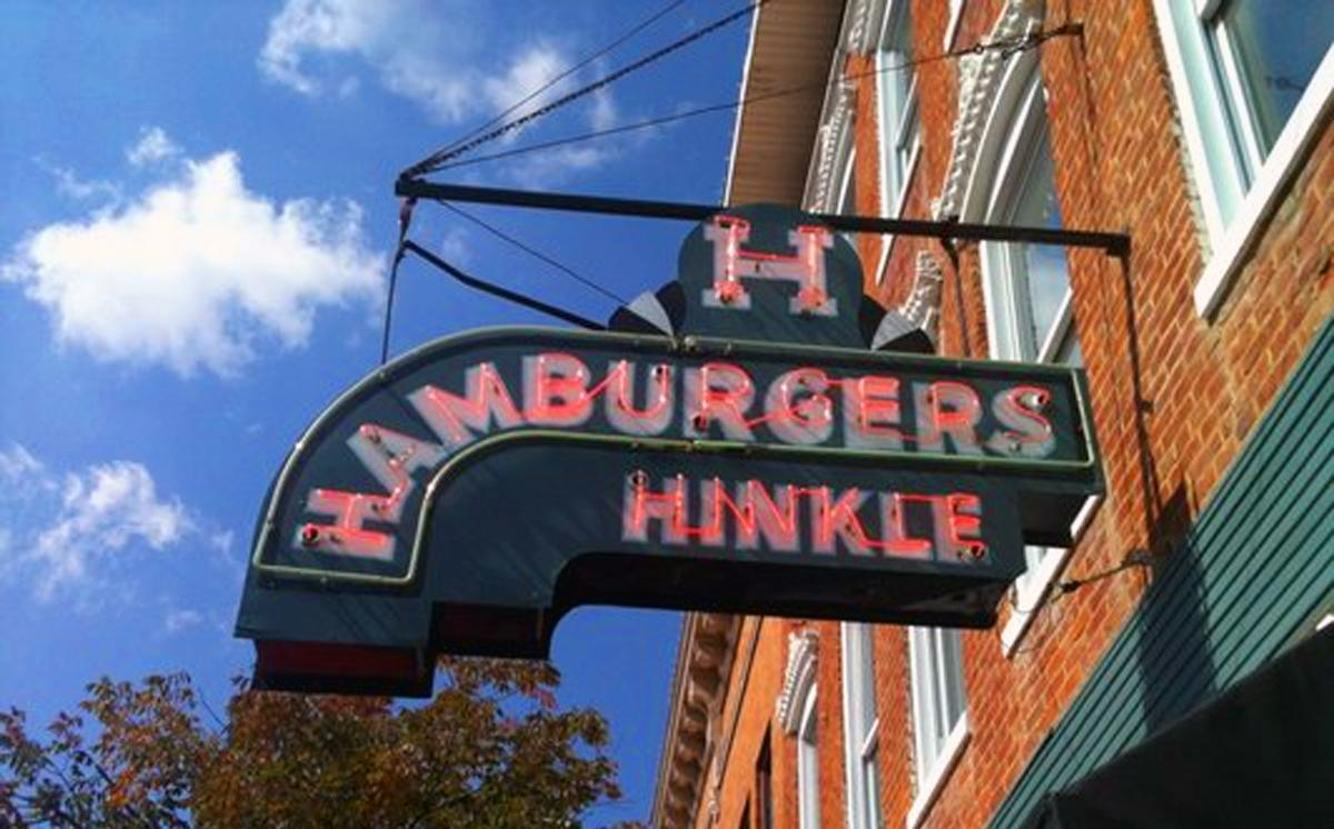 Hinkle's Sandwich Shop, open since 1933 (Image credit: Paige Malott)