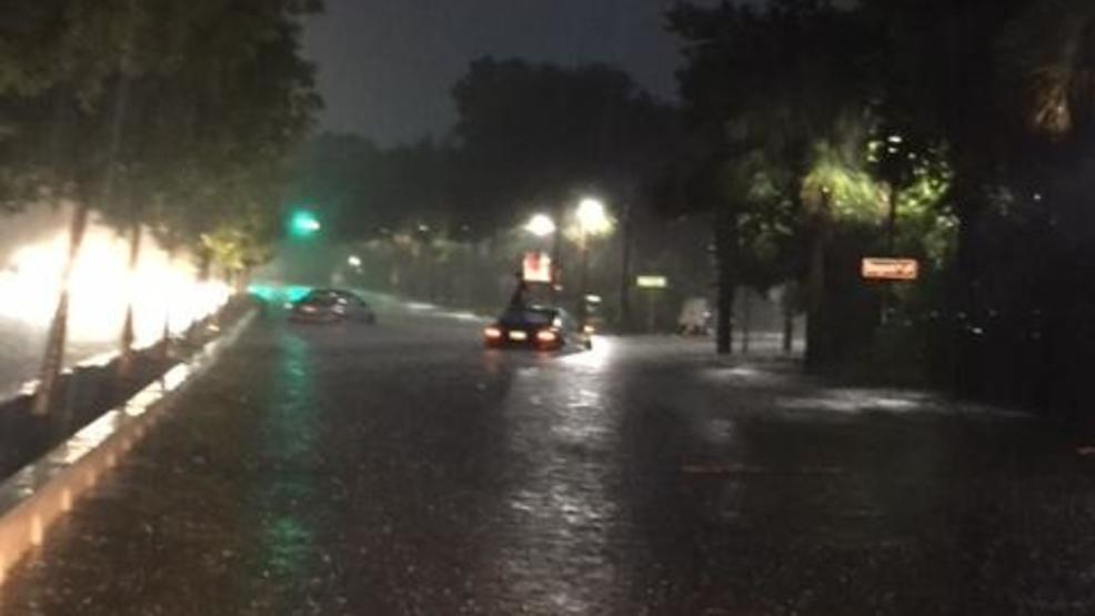 crosstown reopens other charleston area streets remain closed for