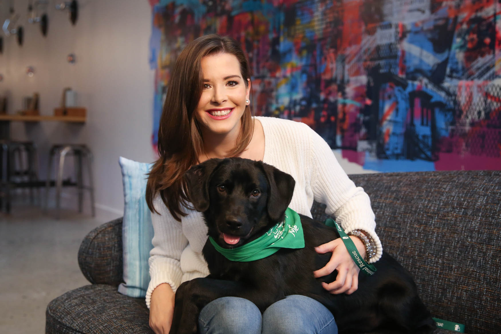 Justine is originally from Arlington, VA and currently works as a spokesperson. She enjoys piano, reading, casual hiking and daydreaming about having a huge yard for a pup some day! Learn more about Justine on our Facebook page. Photo location: Moxy Washington, D.C. Downtown (Image: Amanda Andrade-Rhoades/ DC Refined)