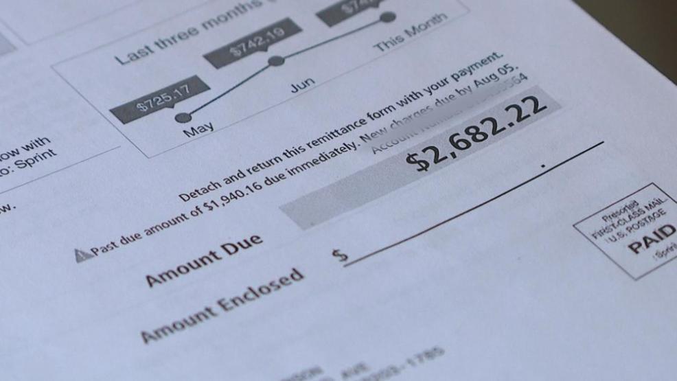 Gahanna man says Sprint billing mistake led to $4,200 bill