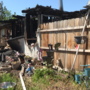 Mobile home fire in Eagle Point displaces more than a dozen family members