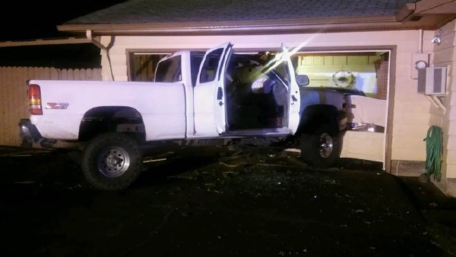 Police: Driver falls asleep, crashes into house in Springfield