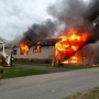 House destroyed, no one hurt in Palmyra fire