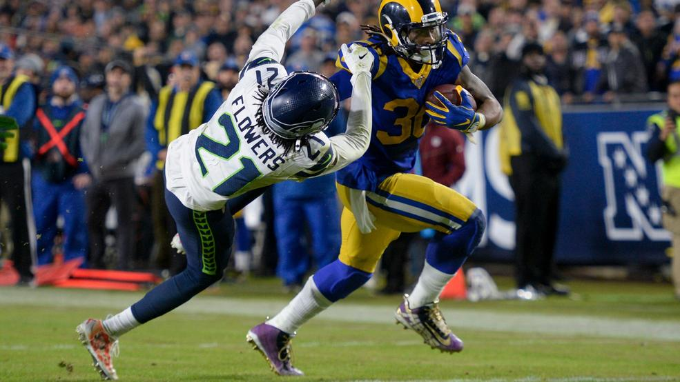 Rams win 28-12 against the Seahawks