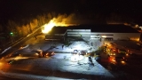 Multiple fire departments battle Emmet County business fire