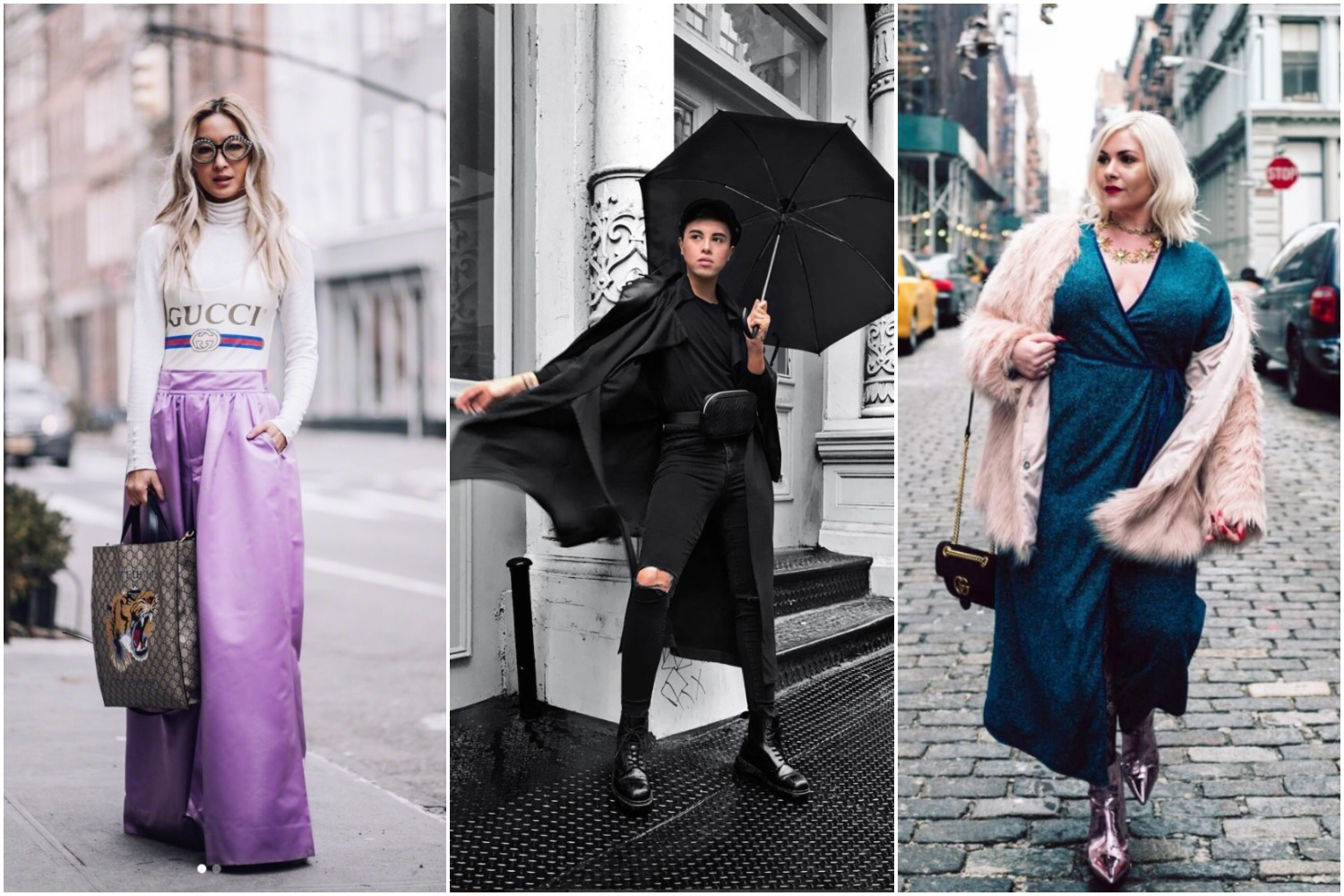 Fashion Week has moved on to Paris, but plenty of our local fashion bloggers flocked north this month for New York Fashion Week. All of the bloggers have a unique aesthetic, but no one can say D.C. isn't a fashionable town. Here are some of our favorite looks bloggers brought to the streets of NYFW.{&amp;nbsp;}<p></p>
