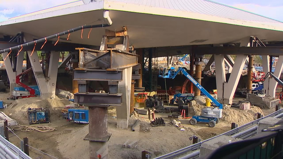 Nighttime work expands at New Arena in Seattle Center