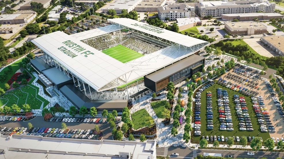 Austin FC to break ground today on McKalla Place soccer stadium