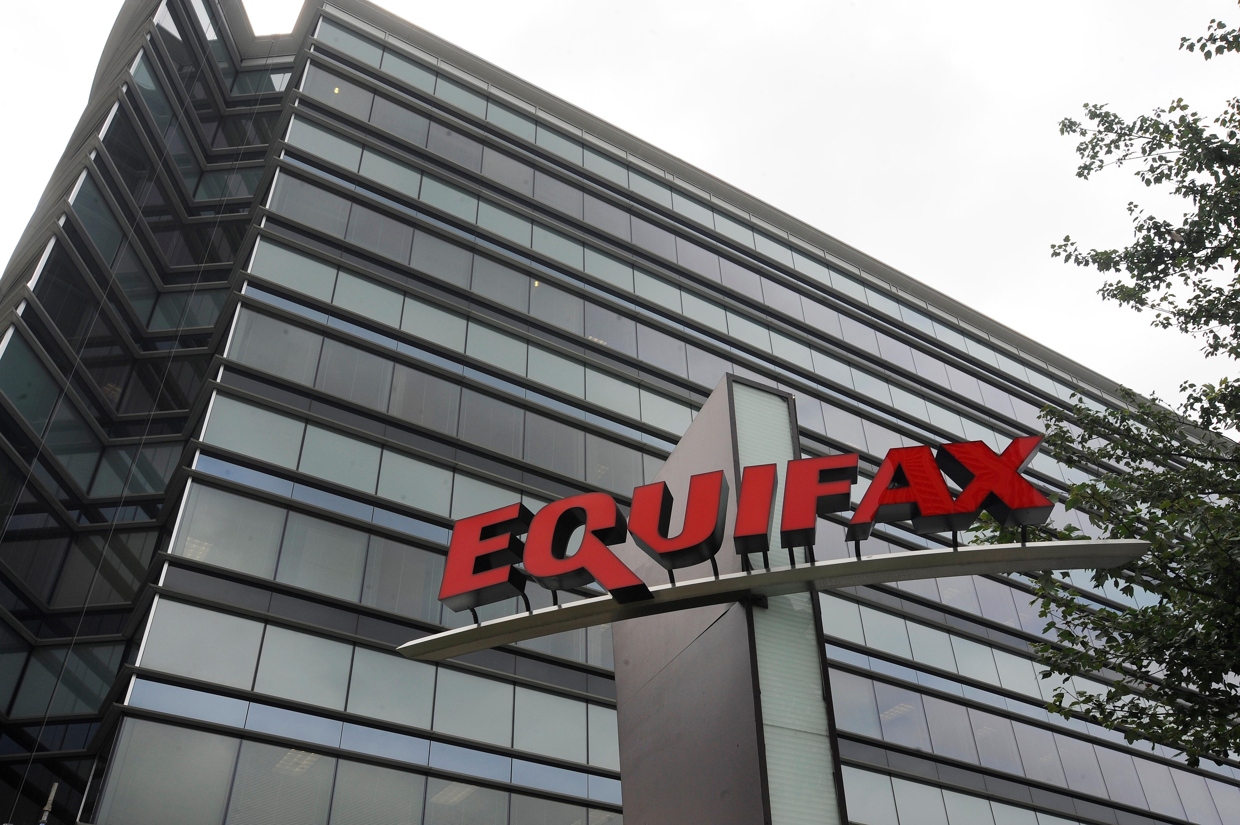 "This July 21, 2012, photo shows Equifax Inc., offices in Atlanta. Credit monitoring company Equifax says a breach exposed social security numbers and other data from about 143 million Americans. The Atlanta-based company said Thursday, Sept. 7, 2017, that ""criminals"" exploited a U.S. website application to access files between mid-May and July of this year. (AP Photo/Mike Stewart)"