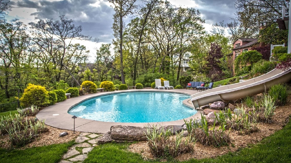 This Columbia Tusculum House Has Its Own Pool Slide .