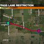 TRAFFIC ALERT: Lane of the Bypass to close this morning for crash cleanup