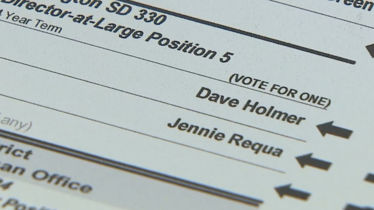 The race between two Darrington School Board candidates is so close it could end in an actual tie, according to election officials - which would then be decided by a coin toss. (Photo: KOMO News)