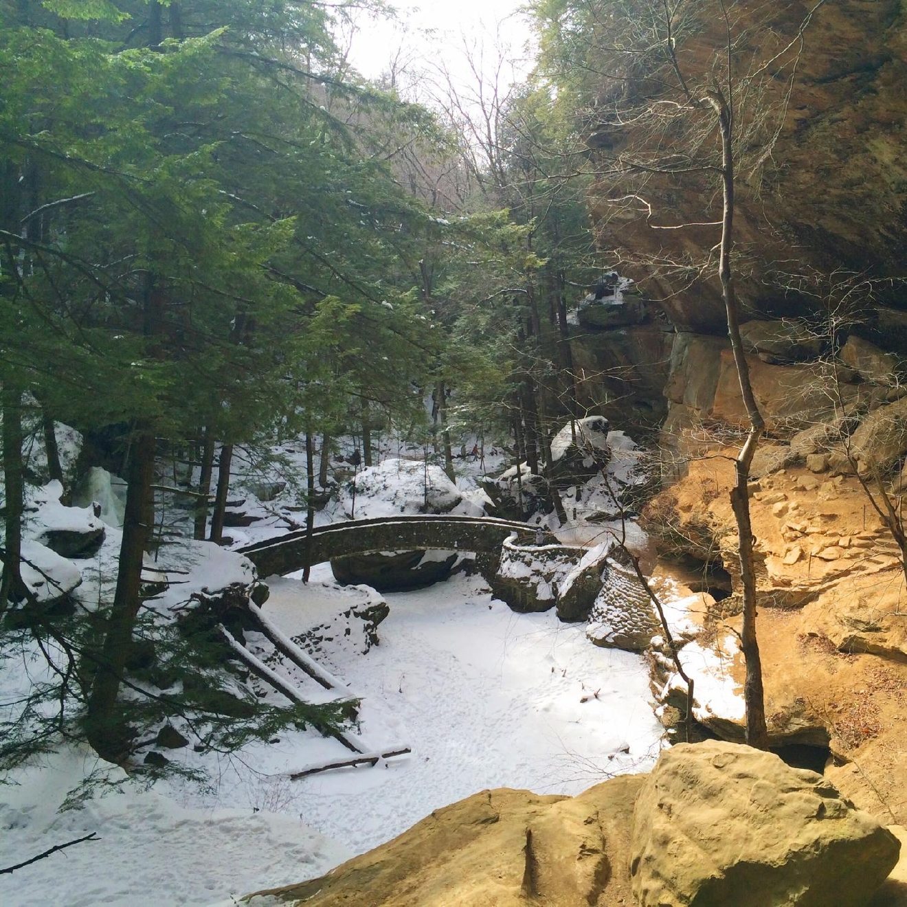 #1 - HOCKING HILLS, OHIO (Distance from Downtown Cincy: approx. 2.5 hours) / Image: Jen Seiser