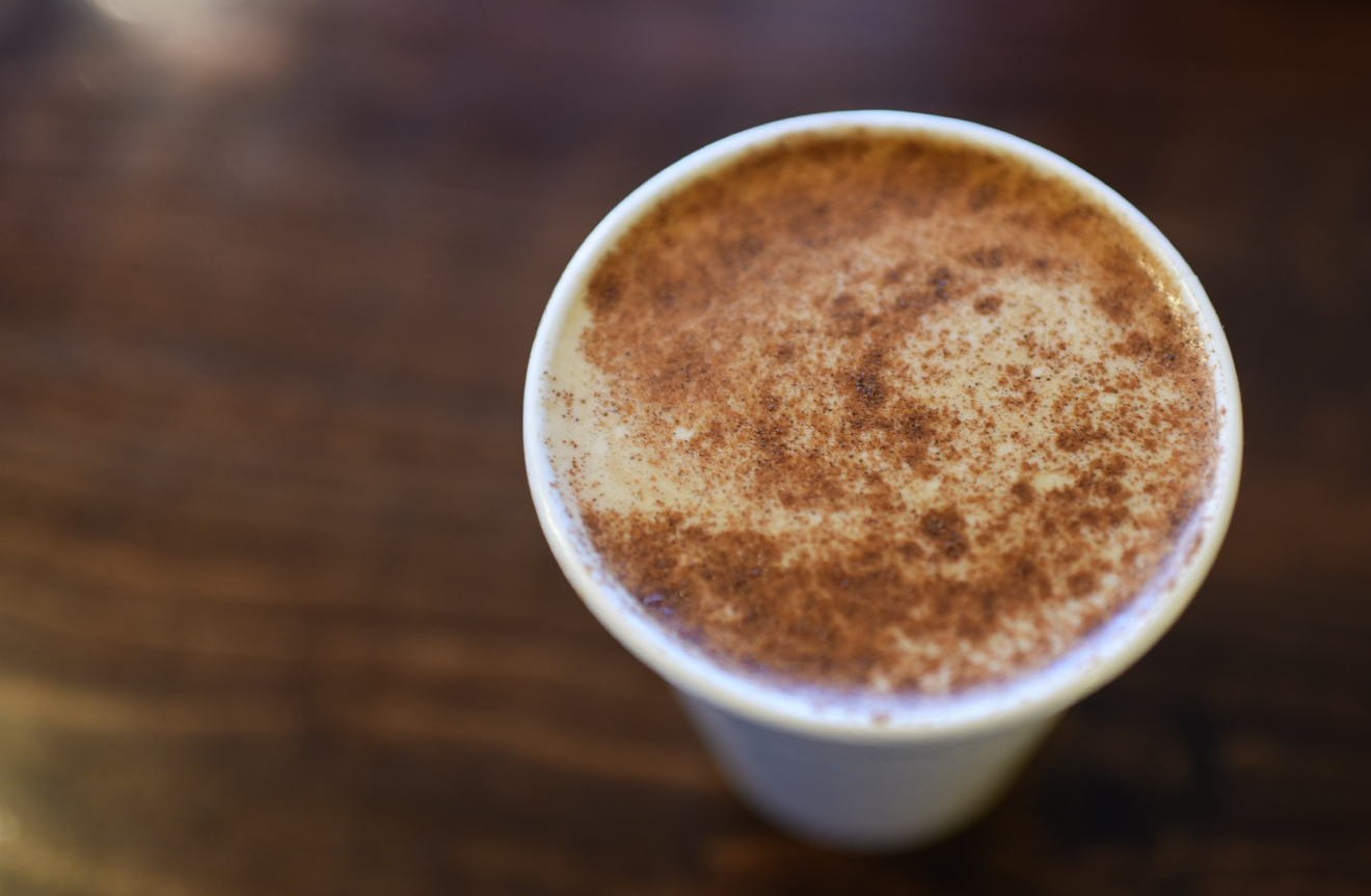 For coffee drinkers who love a sweeter drink, the French Toast Latte at Bedlam is the perfect brunch substitute. The double shot espresso drink is paired with steamed 1/2 & 1/2 along with vanilla and cinnamon for a drink that rivals actual French Toast. (Image: Rebecca Mongrain/Seattle Refined)