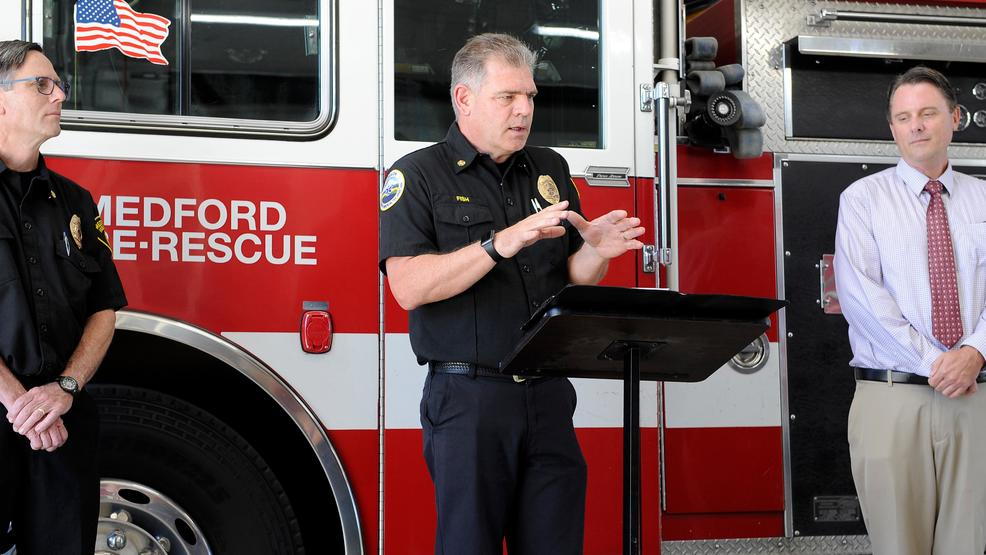 Fire chief will hang up his hat | Mail Tribune