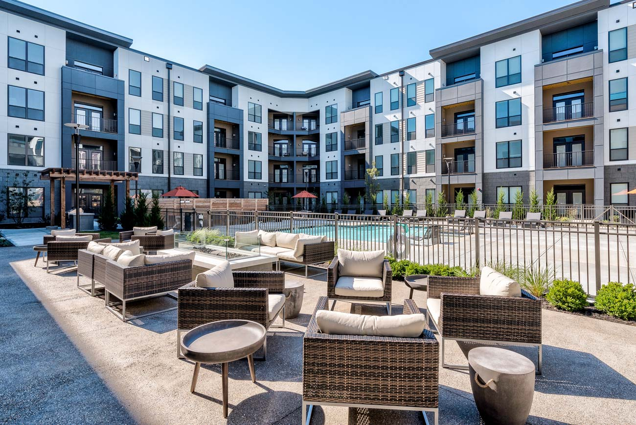 The Echelon Luxury Apartments in Union Township / Image: Justin Sheldon // Published: 10.16.20
