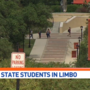 Texas State students forced to leave temporary housing over the weekend