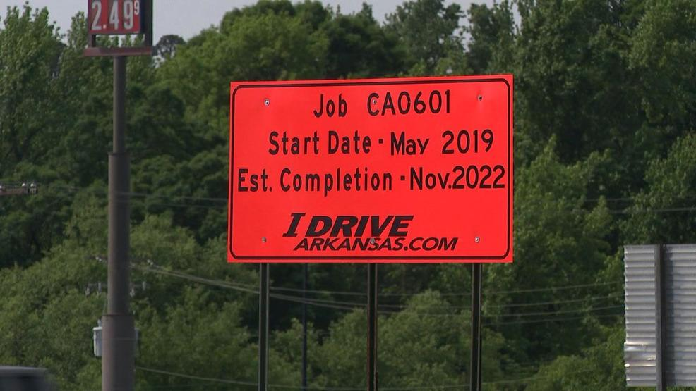 Construction begins on project to widen I-30 in Saline County