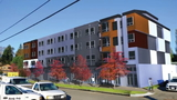 Seattle's newest affordable apartments to be stacked by crane