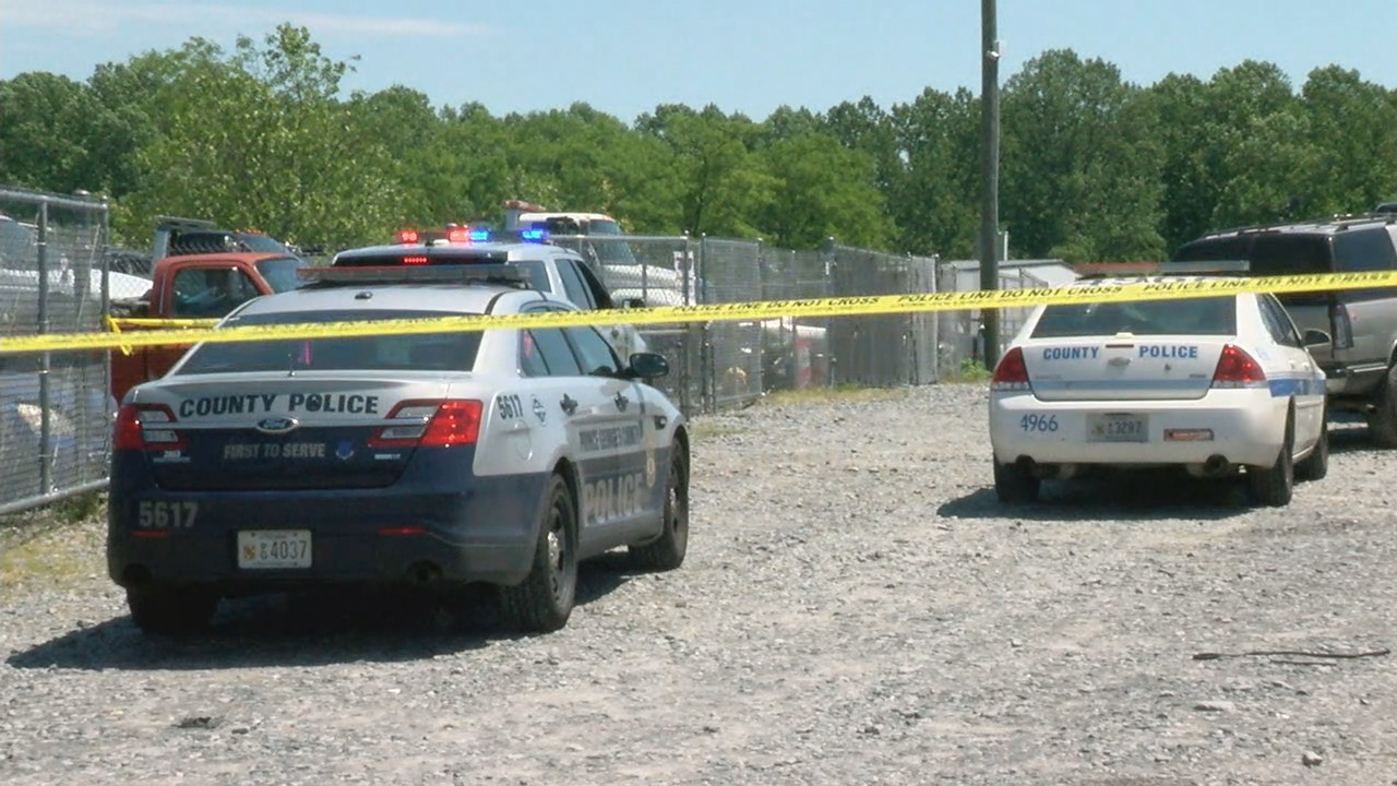 Police: Man found dead under a car in apparent junk yard in PG ...