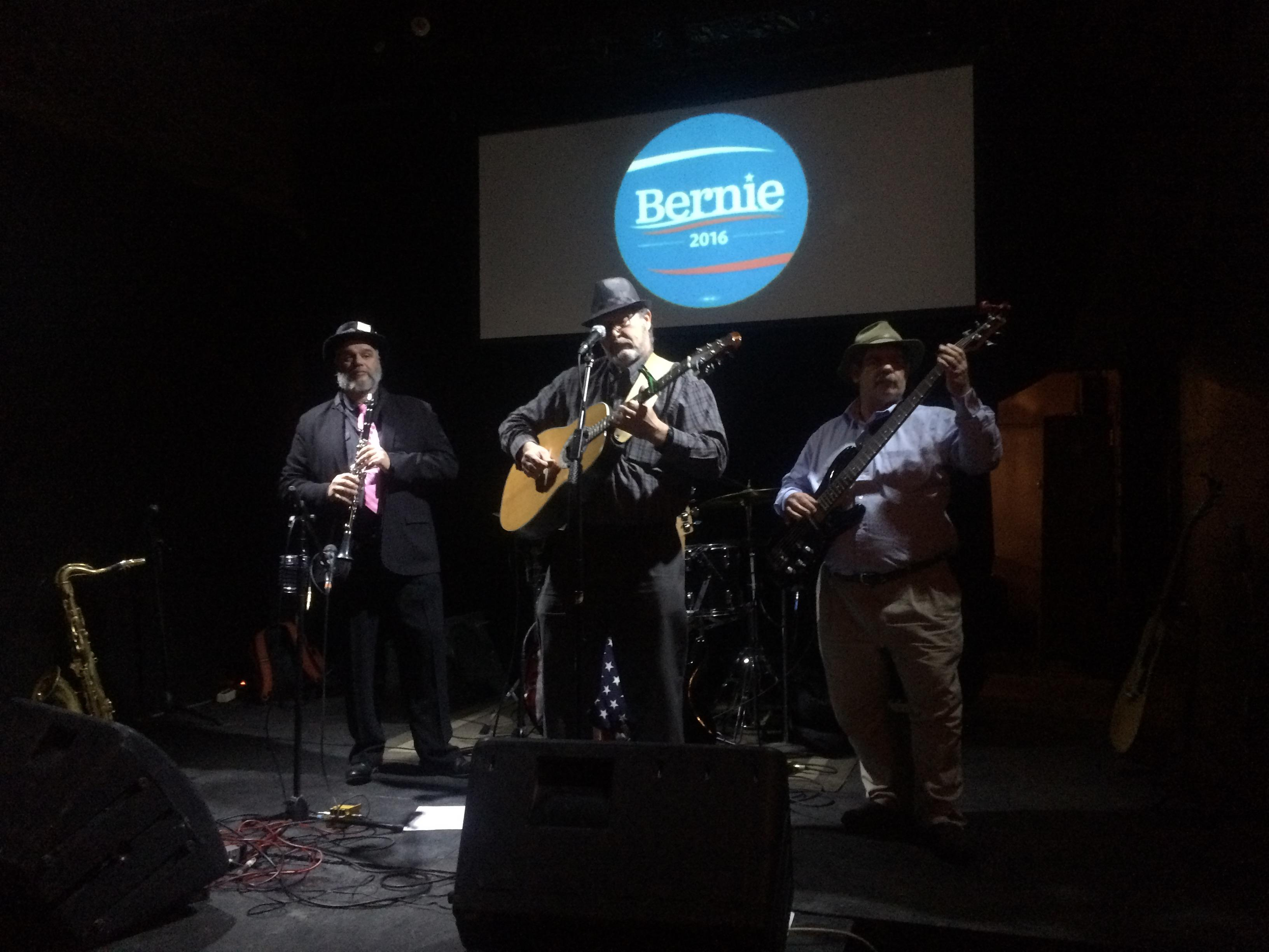 Grassroots campaign, Bands for Bernie, reaches voters through music.